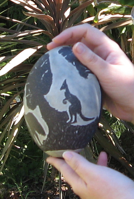Emu egg 2