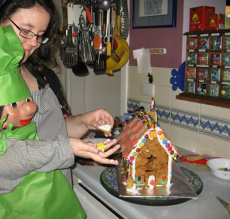 Gingerbread house 10