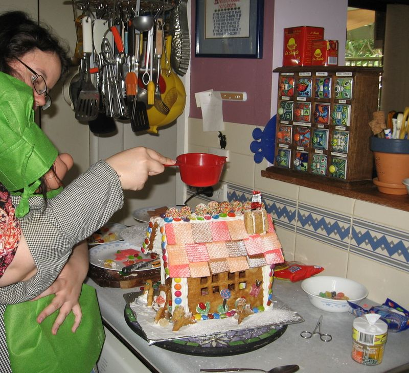 Gingerbread house 13
