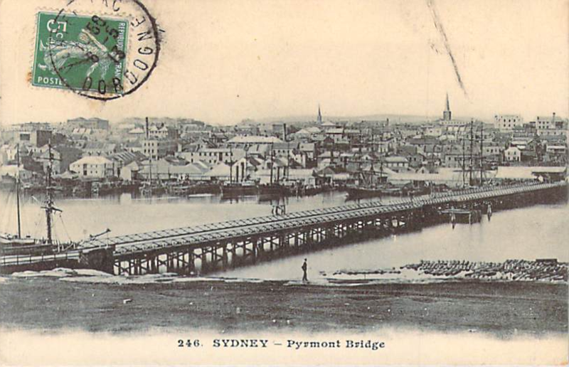 Sydney Pyrmont Bride (old wooden one) front